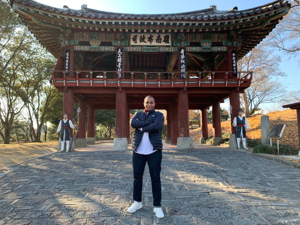 Testia's NDT Inspector Zakaria Laoudi in South Korea