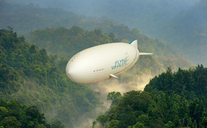 Airship LCA60T by Flying Whales