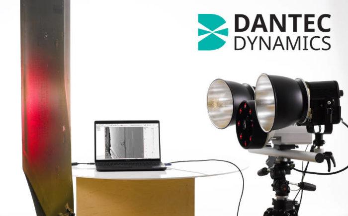 Shearography inspection equipment by Dantec Dynamics